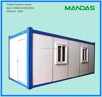 Steel structure (structural) prefab home container houses