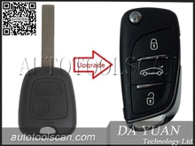 Automotive Key Card for Peugeot 307 Smart Key 433 Mhz 3 Button AK009013