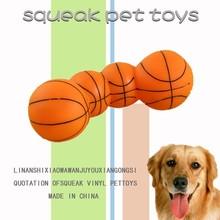 Super Quality Dog Durable Tough Chew Toys/ Pet Toy Basketball Design