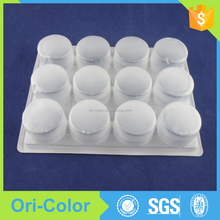 2015 disposable Clear cupcake food box packaging