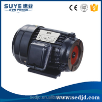 Single phase 1.5kw 2HP 4Poles 30L electric motors for hydraulic machine