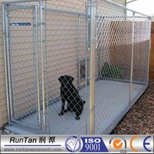 professional customized hot dipped galvanized cheap chain link dog kennels