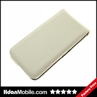 White Leather Flip Mobile Phone Case for Blackberry Z10 Leather Case