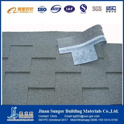Flat Roof Tile Red Asphalt Shingle Prices