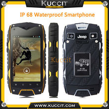 Unlocked china cheapest Z6+ MTK6582 Quad Core IPS rugged Smartphone IP68 Waterproof Mobile phone 3G GPS Android Shockproof