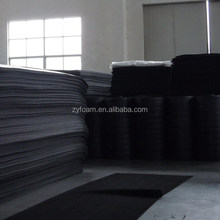 soft black opened/closed cell sheets/rolls