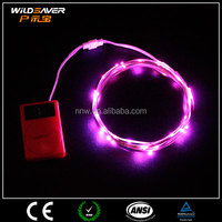 Red Led neon strip light outdoor fixture