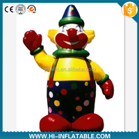 Hot sale inflatable clown cartoon costume /inflatable promotional advertising cartoon/inflatable moving cartoon
