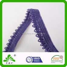 wholesale knitted picot edge underwear elastic band