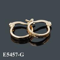 wholesale china import bisuteria fashion jewelry, Earring Fashion Gold Earring