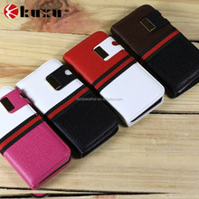 Genuine leather stand wallet protect cover skin case for iphone6