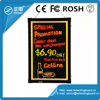 New 2015 innovative product light display portable led advertising board
