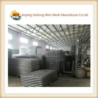powder painting welded wire mesh fence panels in 12 gauge (factory,professional)
