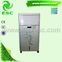 Top discharge portable refrigerated air conditioner evaporative portable air cooler with ce
