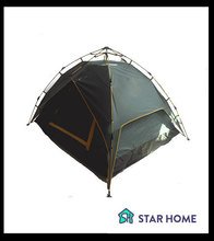 hot selling 4 person automatic open waterproof camping tent
