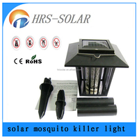 wholesale high voltage mosquito/fly killer lamp solar insect zapper