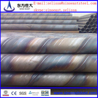 Hot sale ! spiral steel pipe quotation format ,Q345 ,BS1387-1985 ,GB/T3091-2001