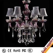 new design large brass gold chandelier crystal