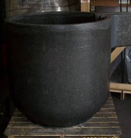 High pure SiC graphite crucible for melting metal