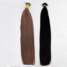 Factory wholesale remy human hair prebonding hair extension itip/utip/vtip/flat tip/nano ring hair extensions