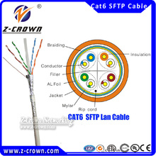 Best seller cat 6 double shielded lan cable