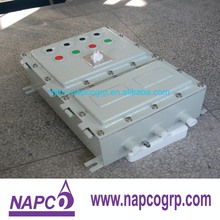 Die cast forming explosion proof aluminum alloy control box / junction box / display box