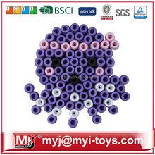 Hot toys for christmas 2015 MYJ 5MM diy bead building blocks for kids