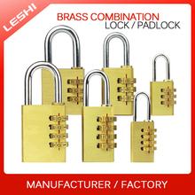 China Factory Combination Brass padlock, Security Pad Lock