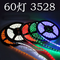 Brightness 12V 60led/ meter 5meters/ roll 1210 / 3528 300Led strip Light