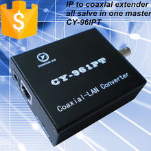 CY-96IPT IP to coaxial video transmitter and receiver