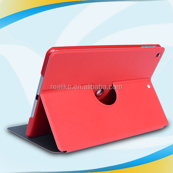 Cusotmized fashion design plastic rotating stand case for ipad