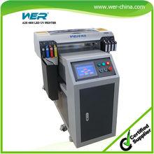 Ce certificado 4880 multi propósito de superficie plana chorro a2 led-uv mini impresora de cama plana