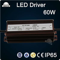 Waterproof Constant Current Led Driver 60W 1500mA 30-40V IP65