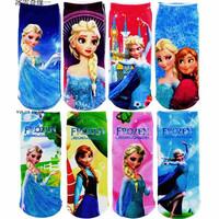 Kids Socks Princess Elsa Cotton Blend Cartoon Frozen Socks