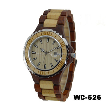 2015 charming natural wholesale wood watch vogue wrist wood watch for men and women
