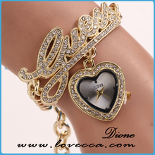 Wholesale High Quality Women's New Fashion Handmade Bracelet Watch Women Hand Woven Jewelry Quarzt Wristwatch
