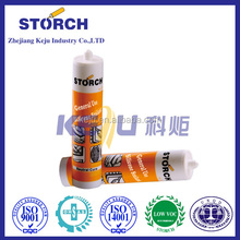 Storch Neutral Cure RTV silicone adhesive during curing