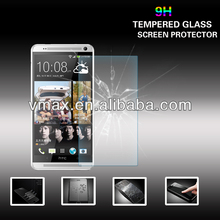 Gold Supply 0.26mm Ultra Clear anti-oil tempered glass screen protector for HTC one max oem/odm (Glass Shield)
