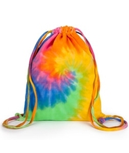 Popular Custom Printed Silk Screen Printing Shopping Drawstring Bag
