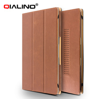 Qialino Fashionable Leather Protecting Case For Macbook Air