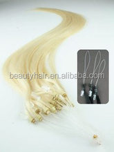 Top Quality Hot Sale In UK/Canada Micro Ring Loop Remy Hair Extensions