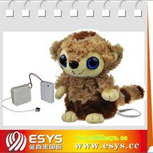 promotional plush cartoon monkey for kids