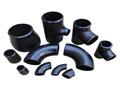 accesorios de tubería de piezas de fontanería en / materail de acero al carbono