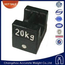20kg cast iron weight, elevator load test weights