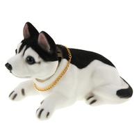 Lovely Husky Nodding Dog for Car Decoration