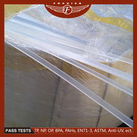 High-tech material plastic customized rigid pvc film with protective pe film coating