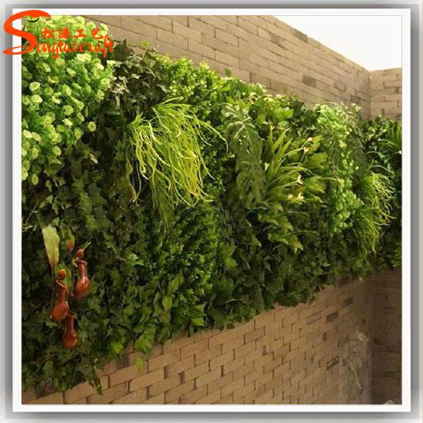 Pl 225 Stico Grama Decor Jardim Vertical Verde Sistema De