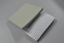 XPS foam sheet with sun/rain protected aluminum foil