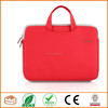 Laptop Case, PLEMO Nylon Lycra Fabric 14 Inch Laptop / Notebook Computer Case Briefcase Bag Pouch Sleeve, Red