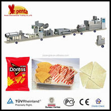 profitable business high quality automatic doritos/corn tortilla chips production line